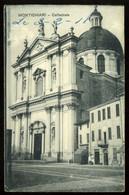 Montichiari Cattedrale Carte Incomplète Sans Dos Cartolina Incompleta Senza Retro Carta Incompleta Di Un Solo Foglio - Other Cities