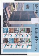 UNO New York Michel Cat.No. Mnh/**  Sheet 1005/1009 - Blocs-feuillets