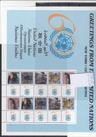 UNO New York Michel Cat.No. Mnh/**  Sheet 977/981 - Blocs-feuillets