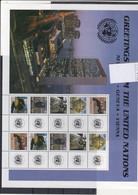 UNO New York Michel Cat.No. Mnh/**  Sheet 1010/1014 - Blocs-feuillets