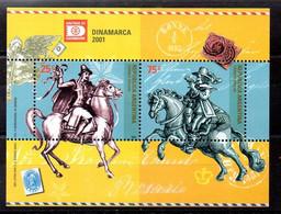 Argentina Hoja Bloque Nº Yvert 78 ** CABALLOS (HORSES) - Blocs-feuillets
