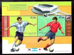Argentina Hoja Bloque Nº Yvert 79 ** FOOTBALL - Blocs-feuillets