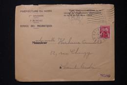 FRANCE - Taxe De St André Sur Enveloppe De La Préfecture Du Nord En 1945 - L 90473 - Lettres Taxées