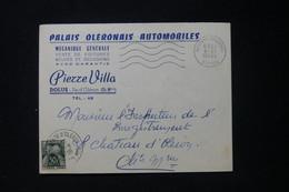 FRANCE - Taxe De Le Château D'Oléron Sur Enveloppe Commerciale De Dolus En 1959 - L 90474 - Lettres Taxées