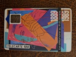 F93 - TELEPHONE AU FIL DU TEMPS 120 SC5 - 1989