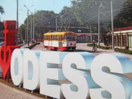 Ukraine.Odessa Tram Modern PC - Tranvía