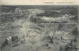 CPA 89 Yonne  Massangis Civry-sur-Serein Vue Générale Des Carrières - Andere Gemeenten