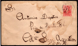 Argentina - Circa 1900 - Carta Postal - Bernardino Rivadavia - 5 Ctv - A1RR2 - Briefe U. Dokumente