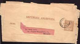 Argentina - Circa 1900 - Carta Postal - 1/2 Ctv - A1RR2 - Briefe U. Dokumente
