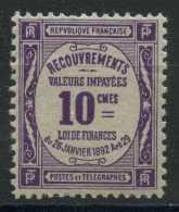 France (1908) Taxe N 44 (Luxe) - 1859-1955 Neufs