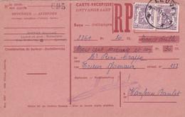 Carte Récépissé Paire 714 Leuven - Cartas