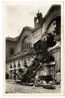 75 PARIS 14 ACCIDENT DE LA GARE MONTPARNASSE OCT 1895  -  CPSM 1940 /  50 - Pariser Métro, Bahnhöfe