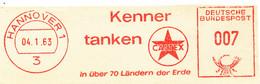 Freistempel Kleiner Ausschnitt 399 Kenner Tanken Caltex - Affrancature Meccaniche Rosse (EMA)