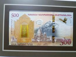 BILLETE DE ARMENIA 500 DRAM 2017 CONMEMORATIVO DEL ARCA DE NOE - Armenia