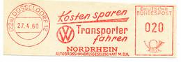 Freistempel Kleiner Ausschnitt 471 Volkswagen Transporter Kosten Sparen Transporter Fahren - Affrancature Meccaniche Rosse (EMA)