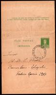 Argentina - Circa 1920 - Faja Postal - Bande Postale - General San Martin - 3 Ctv - A1RR2 - Briefe U. Dokumente