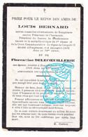 DP Couple - Conseiller Et Secrétaire Comm. Louis Bernard & Florentine Delecoeuillerie † Templeuve Tournai Décembre 1916 - Andachtsbilder
