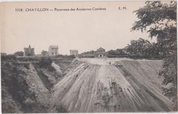 CPA Chatillon (92) Industries Panorama Des Anciennes Carrières De Sable (ici En Cours De Remblaiement) EM  5528 - Châtillon