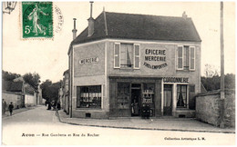 77 AVON - Rue Gambetta Et Rue Du Rocher - Avon