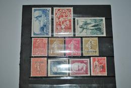 France 1930/36 MH - Neufs