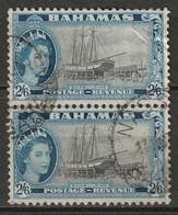 Bahamas 1954 Sc 170  Pair Used - 1859-1963 Kolonie Van De Kroon