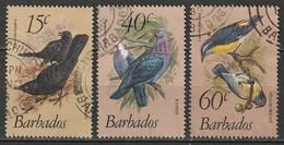 Barbados 1982 Sc 570-2  Set Used - Barbades (1966-...)