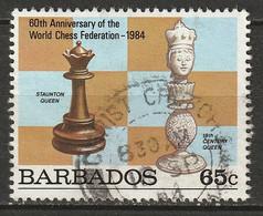 Barbados 1984 Sc 634  Used - Barbades (1966-...)