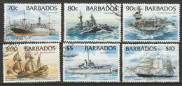 Barbados 1994 Sc 880-5  Set High Values Used - Barbades (1966-...)