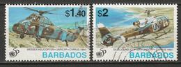 Barbados 1995 Sc 903-4  Partial Set Used - Barbades (1966-...)