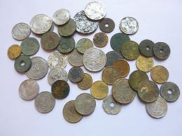 Lot De 44 Pièces Monnaies Divers France - Unclassified
