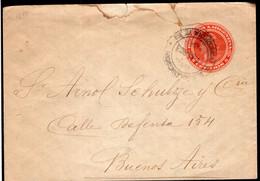 Argentina - 1903 - Faja Postal - Bande Postale - Republica En Medallon - 5 Ctv - A1RR2 - Briefe U. Dokumente