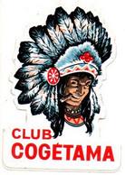 Sticker Autocollant  Club Cogétama Indiaan Sigaar - Altri