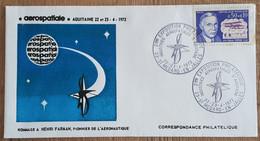 YT N°1670 - EXPOSITION PHILATELIQUE / INDUSTRIES AEROSPATIALES D'AQUITAINE - ST MEDARD EN JALLES - 1972 - Lettres & Documents
