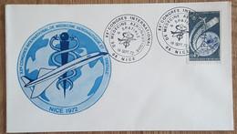 YT N°1721 - CONGRES DE MEDECINE AERONAUTIQUE & SAPTIALE - NICE - 1972 - Lettres & Documents