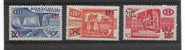 België Tr 331/333  Xx Postfris Cote 115 Euro - 1952-....