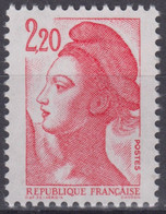 FRANCE : LIBERTE N° 2376g TYPE II SANS PHOSPHORE NEUF ** GOMME SANS CHARNIERE - 1982-90 Liberté De Gandon