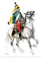 FRANKREICH 1797   -  GUIDES HUSSARDS DE I'ARMEE D'ALLEMAGNE - HUSAR   (ARTIST  W. TRITT) - Uniformes