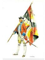SCHWEIZ  1765-67 - SCHWEIZER REGIMENT VON DIESBACH - FÄHNRICH  (ARTIST  W. TRITT) - Uniformes