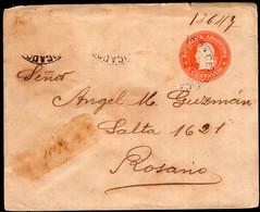 Argentina - Circa 1900 - Faja Postal - Bande Postale - Republica En Medallon - 5 Ctv - A1RR2 - Briefe U. Dokumente