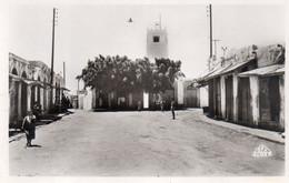 Photo Carte, Moknine, Place Du Commerce N°6, Animée - Túnez