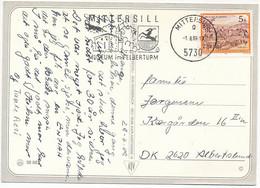 Mi 1827 Solo Slogan Postcard Abroad - 1 August 1989 Mittersill - 1981-90 Cartas