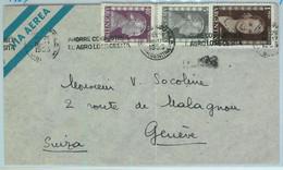 96895 - ARGENTINA - POSTAL HISTORY - Airmail COVER To SWITZERLAND 1953  Evita - Briefe U. Dokumente