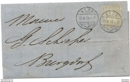 75 - 56 - Lettre Envoyée De Bern 1874 - Briefe U. Dokumente