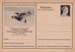 Carte Entier Postal Ganzsache Postkarte Druckprobe Bad Hofgastein - Enteros Postales