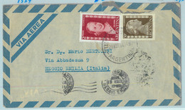 96898 - ARGENTINA - POSTAL HISTORY - Airmail COVER To Reggio E.  ITALY1954 Evita - Briefe U. Dokumente