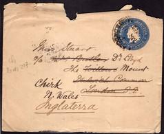 Argentina - Circa 1900 - Carta Postal - Republica En Medallon - 12 Ctv - A1RR2 - Briefe U. Dokumente