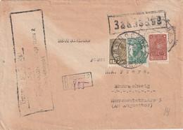 URSS  1935 LETTRE RECOMMANDEE DE MOSCOU AVEC CACHET ARRIVEE BRAUNSCHWEIG - Briefe U. Dokumente