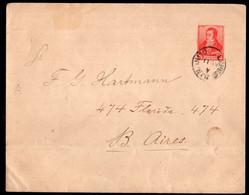 Argentina - 1897 - Lettre - Bernardino Rivadavia - 5 Ctvs - A1RR2 - Briefe U. Dokumente