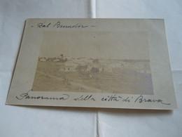 SOMALIA ITALIANA -BENADIR - PANORAMA DELLA CITTA DI BRAVA - 1914 - FOTO - Somalië