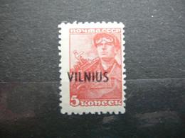 Vilnius # Lietuva Litauen Lituanie Litouwen Lithuania # MNH 1941 # 5kap. - Lituania